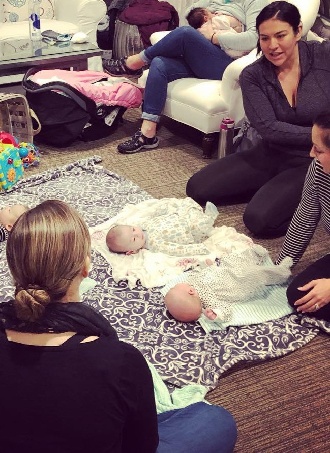 Babies, Breastfeeding and postpartum moms come together to support new and re-newed parents every Wednesday in the Glastonbury office
