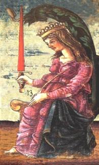 QUEEN OF SWORDS 13