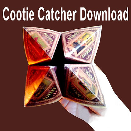 Cootie-Catcher Fortune Teller Download