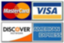 visa-mastercard for payment of duct cleaning services