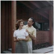 Mary Zimbalist : Photographs : Mary with Sam Zimbalist