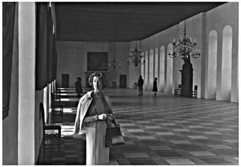 Mary Zimbalist : Photographs : Mary in great hall