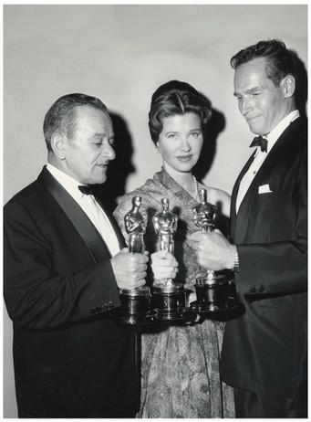 Mary Zimbalist : Photographs : Mary at the Oscars