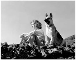 Mary Zimbalist : Photographs : Mary with dog