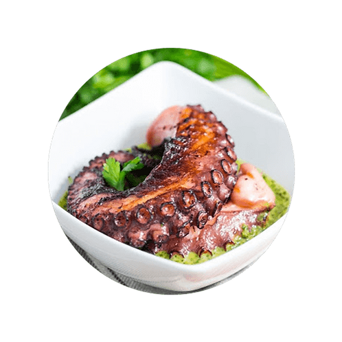 Frozen Cooked Octopus Leg