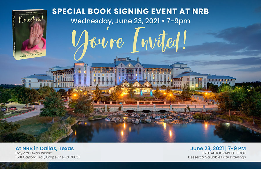 susie-jennings-no-not-me-nrb-book-signin