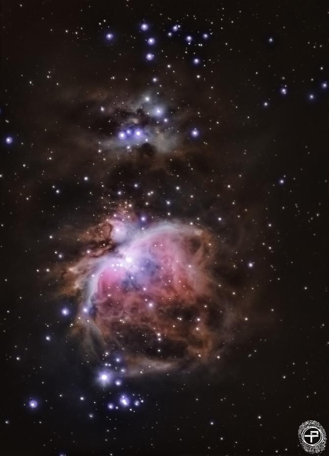 Improving Astrophotography during quarantine: M42 Nebula.