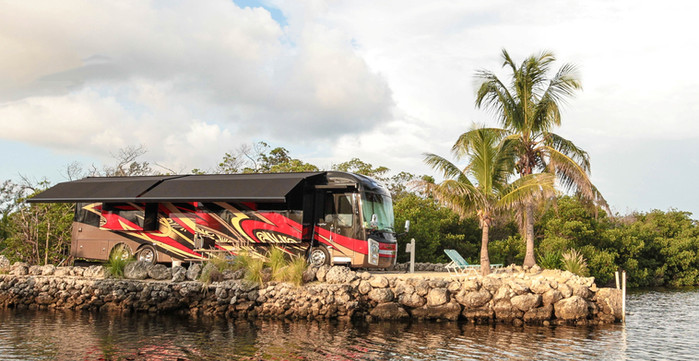 Deluxe Waterfront RV Site Florida Keys