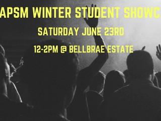 APSM Winter Showcase @ Bellbrae Estate!