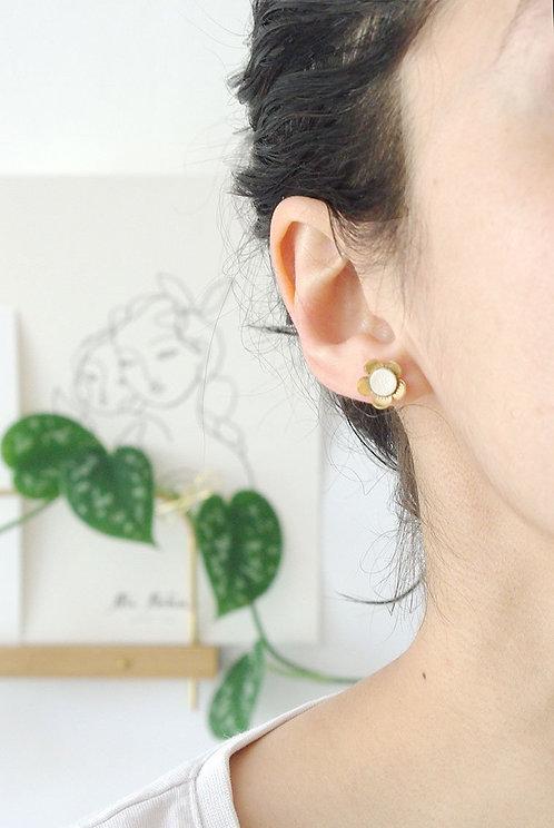 puces d'oreille Fleurs