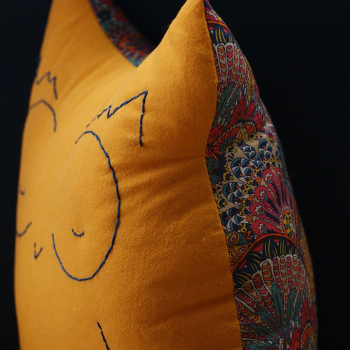 coussin ♫ - Mme Chouette - fly me to the moon