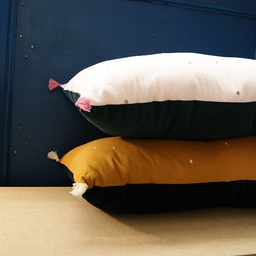 coussin petits pois