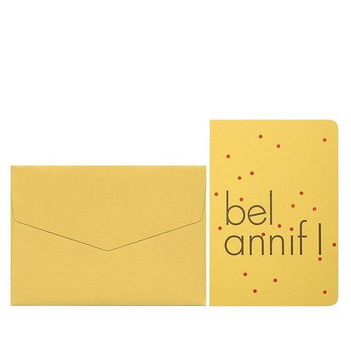 carte postale - le typographe