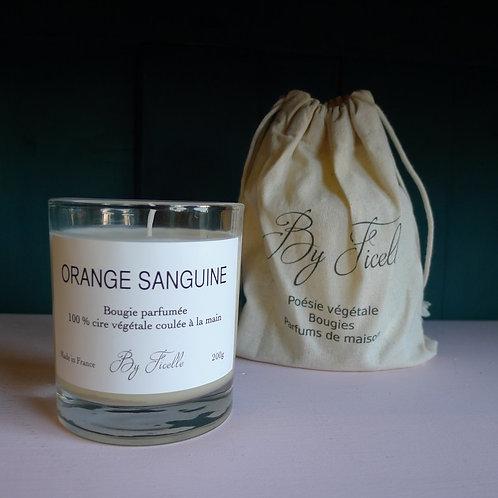 bougie Orange sanguine