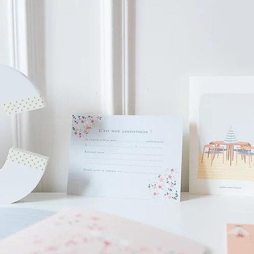 cartons d'invitation - atelier bobbie