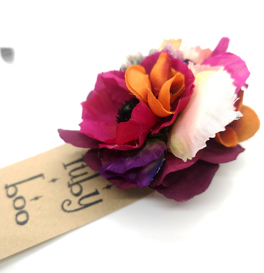 'Betty' Floral Corsage Brooch