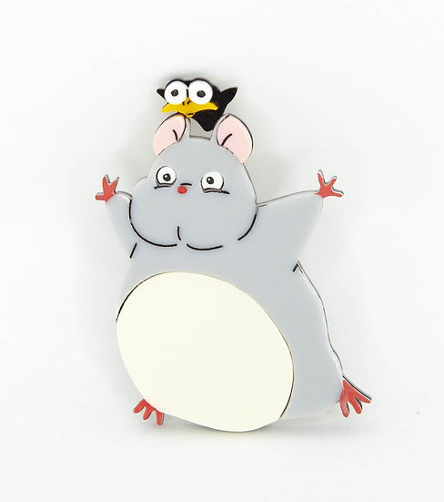 Ghibli Collection - Boh & Yu Brooch