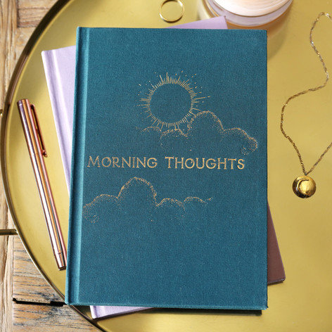 Two-Way Morning & Night Notebook - Green