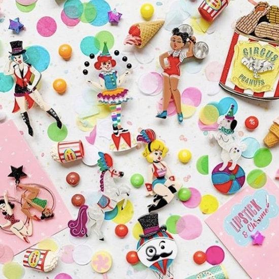 Lipstick & Chrome 9 Piece Circus Collection
