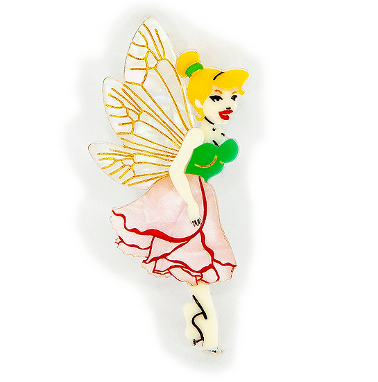 Marigold the Fairy Brooch