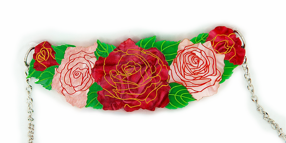 Roses in Bloom Necklace *