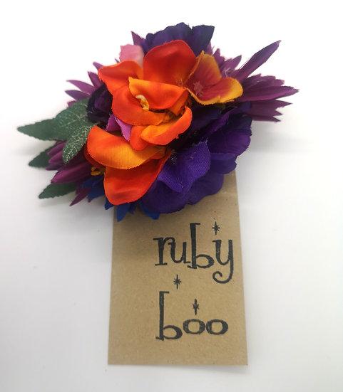'Barbara-Ann' Flower Corsage Brooch