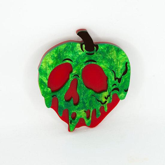 Poison Apple Brooch