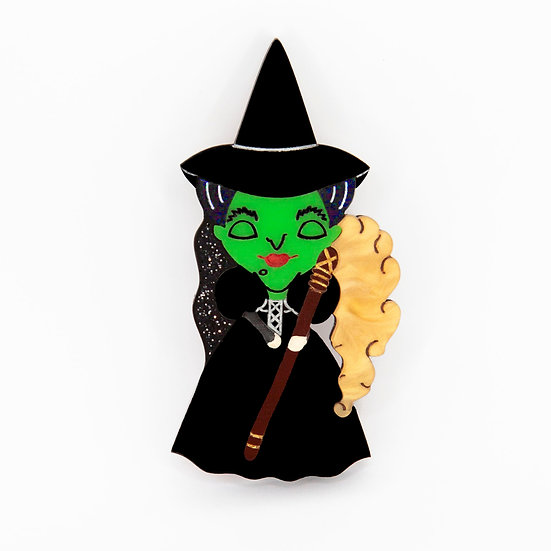 Wicked Witch Brooch *PRE ORDER*