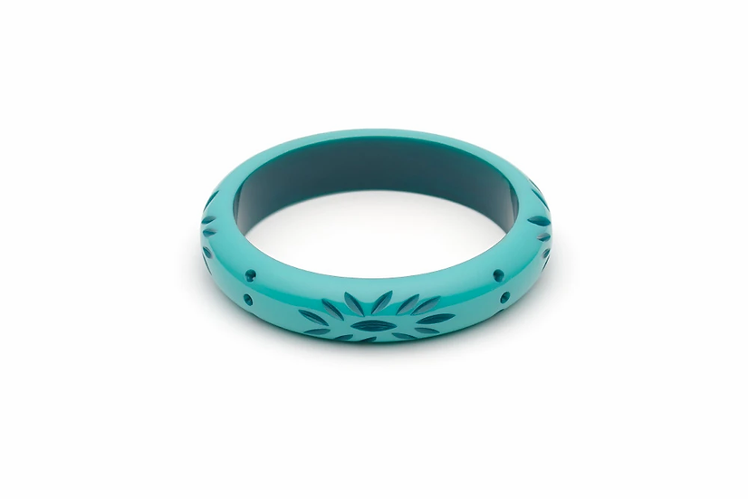 Midi Nymph Carved Bangle