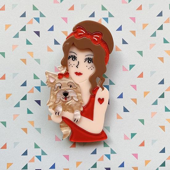 Pippi Love Brooch
