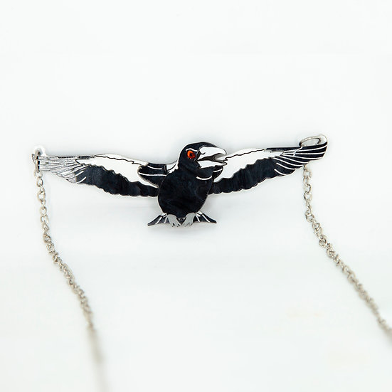 Marjorie the Swooping Magpie