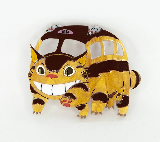 Ghibli Collection - Cat Bus Brooch