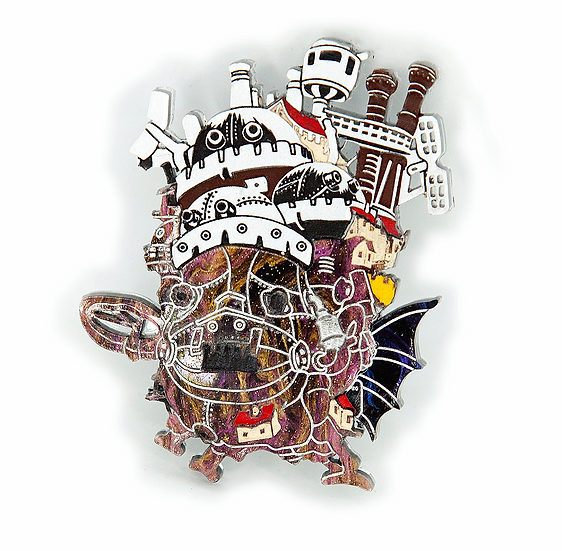 Ghibli Collection - Howl's Moving Castle Brooch