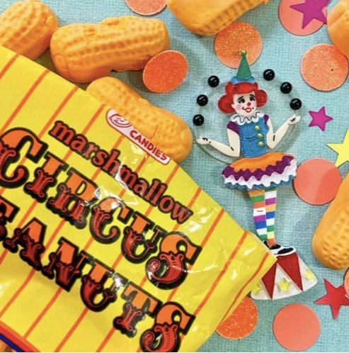 The Juggle is Real - Clown Brooch
