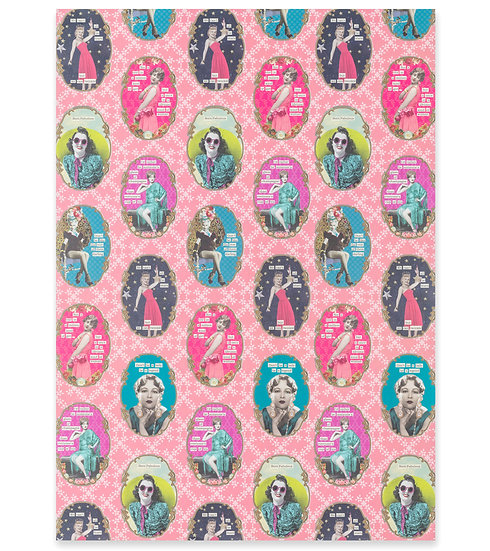 Darling Divas Wrapping Paper