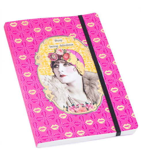 Busy Being Fabulous Notebook