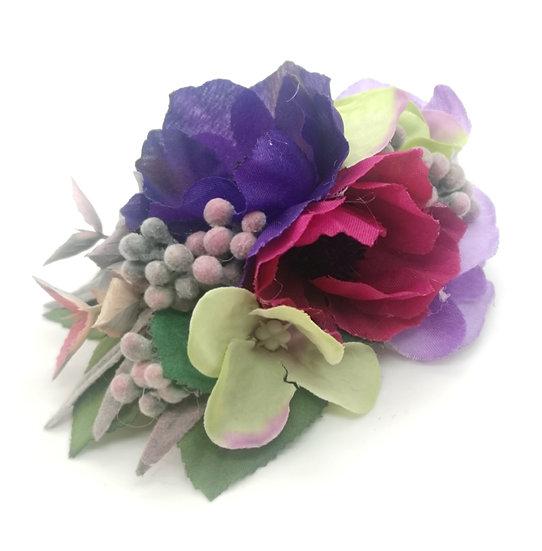 'Lauren' Floral Corsage Brooch