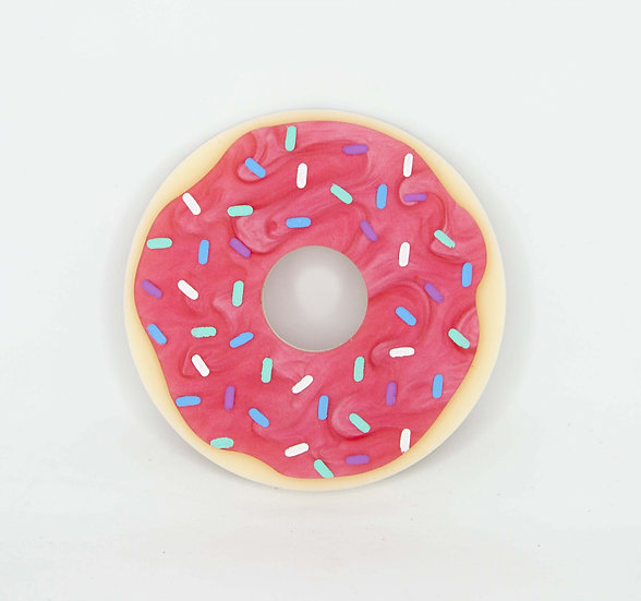 Dainty Donut Brooch