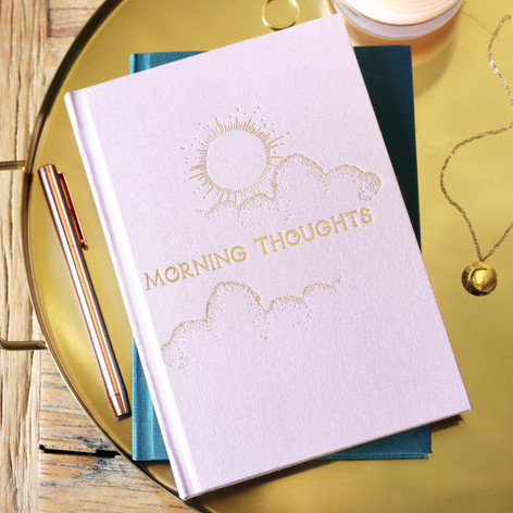 Two-Way Morning & Night Notebook - Pink