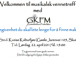 Gutteklubben Friskt Mot 22.04.2017