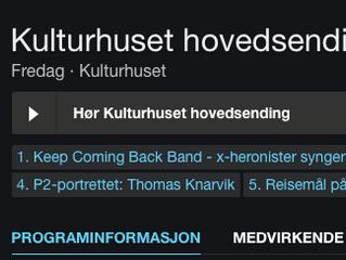 Kveise Kultur Produksjon på NRK P1 og P2