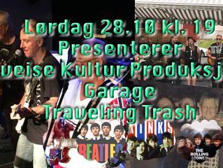 28.10.17 Konsert med Garage og Traveling Trash