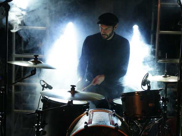 Black Cat Bone Drummer Kai Wallace