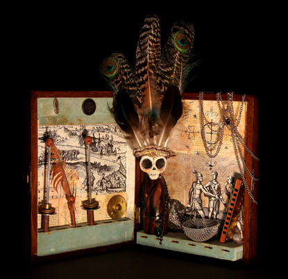 Black Cat Bone Artwork by Zi Illustrations
