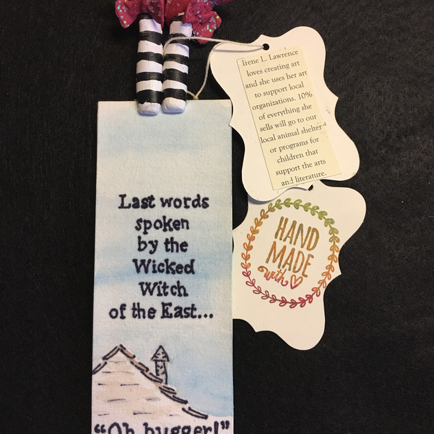 Wisord of OZ Series Book Markers