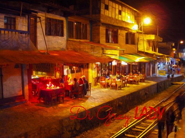 Dining in Cusco