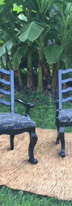 French Nouveau Chairs