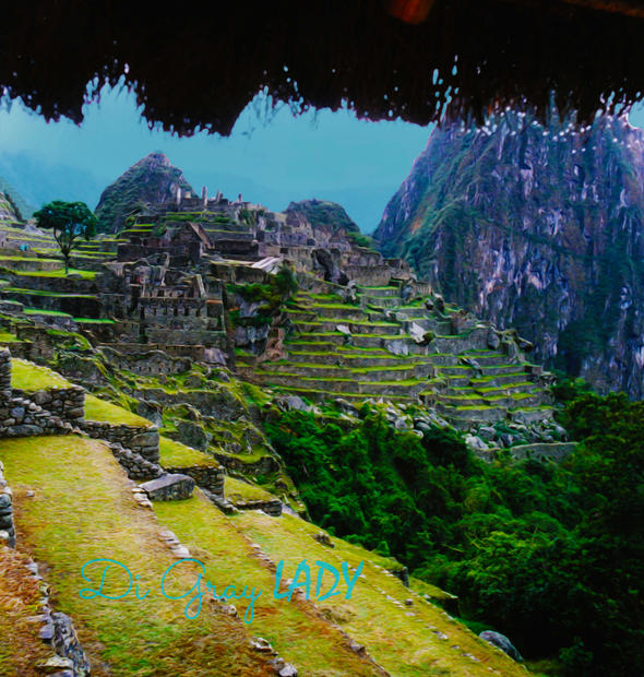 Rain n Machu Picchu