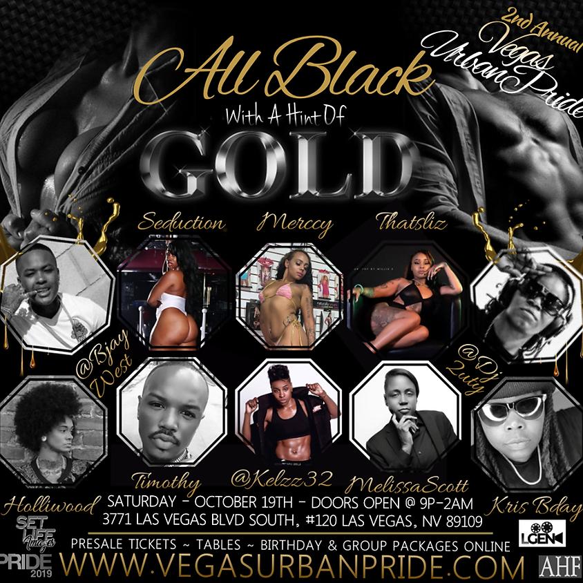 All Black Party (Door Sales)