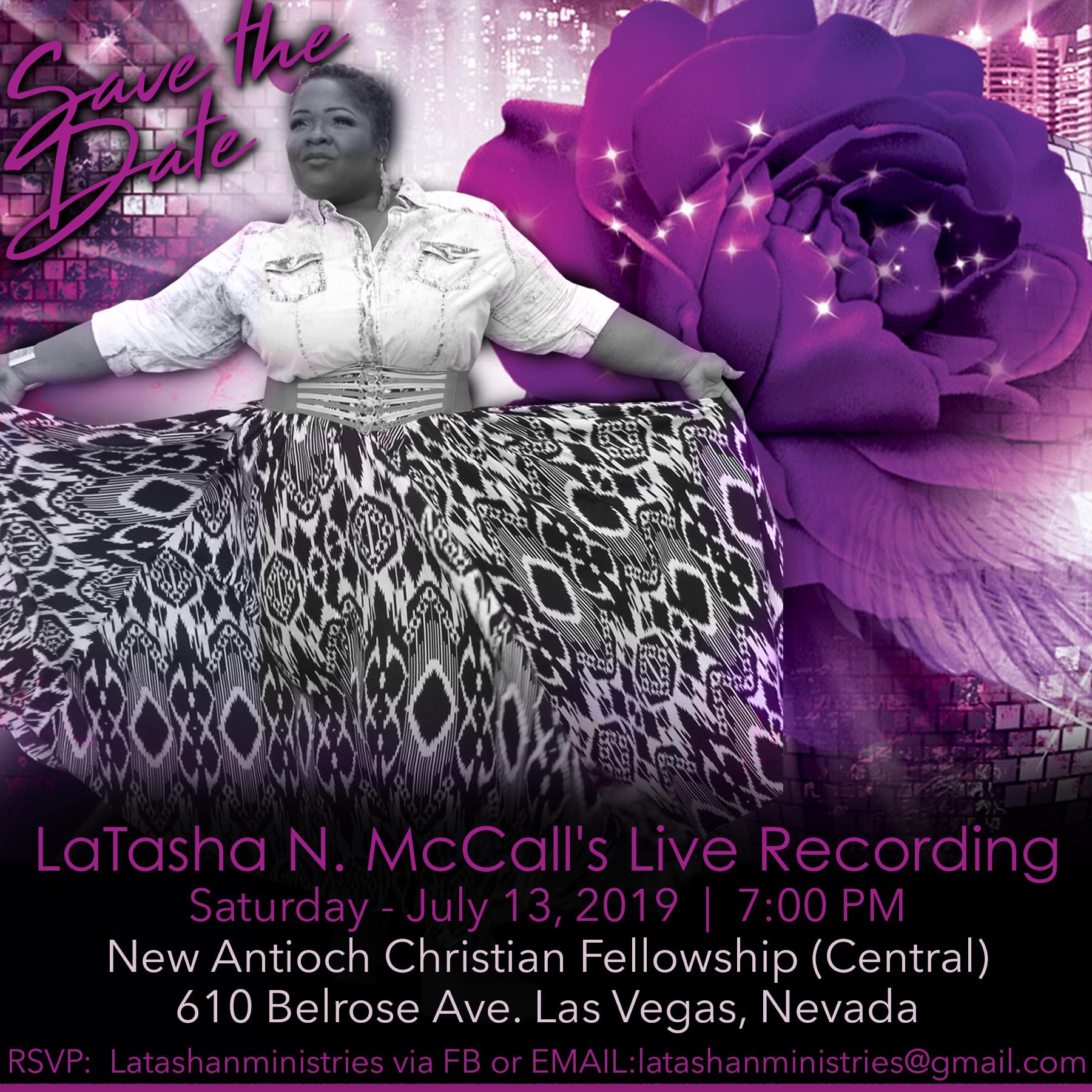 Latasha McCalls Live Recording